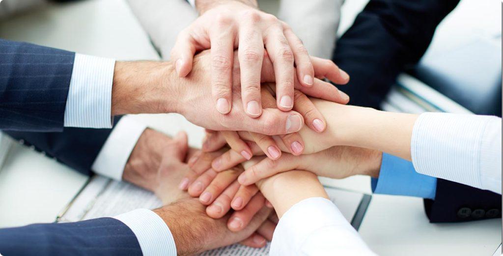 KSAP Team Hands In Image